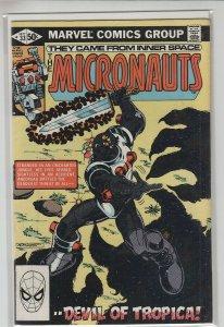 MICRONAUTS (1979 MARVEL) #33 VF+ A20374