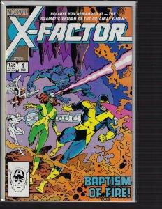 X-Factor #1 (Marvel, 1985) NM