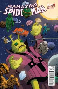 Amazing Spider-Man #2 RI 1:10 Kirby Monster Variant (Marvel, 2015) NM