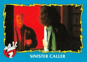 1989 Topps Ghostbusters #20 Sinister Caller