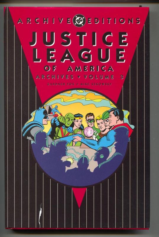 Justice League Of America Archives-Vol 3-Golden Age Color Reprints-Hardcover