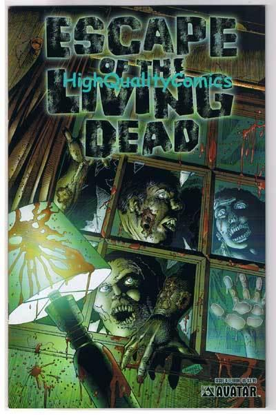 ESCAPE of the LIVING DEAD #4, NM, Terror, Zombies, 2005, more Horror in store