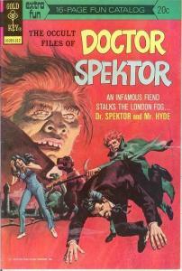 OCCULT FILES OF DOCTOR SPEKTOR 5 VF+  Dec. 1973 COMICS BOOK