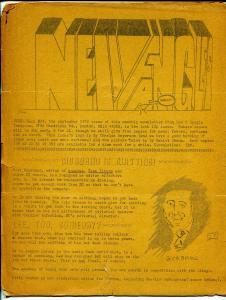 Newfangles #39 1970-comic newsletter-David T Alexander-FR
