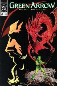 Green Arrow (1988 series) #26, VF+ (Stock photo)