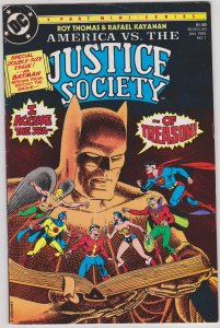 America vs the Justice Society #1