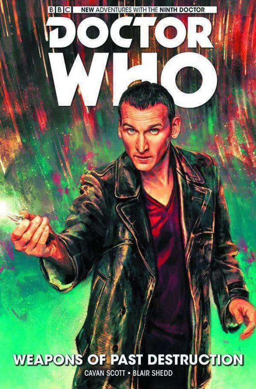 Doctor Who: The Ninth Doctor HC #1 VF/NM; Titan | save on shipping - details