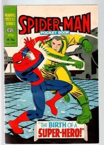SPIDER-MAN MARVEL DIGEST SERIES #24-JOHN ROMITA ART-RHINO APPEARS-1982-BR FN-