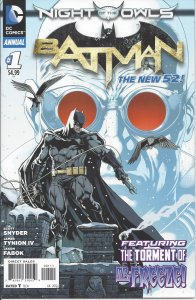 Batman Annual #1 (July 2012) - Night of the Owls, Penguin, Mr. Freeze - New 52