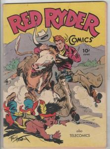 Red Ryder Comics #35 (Jun-46) VG/FN Mid-Grade Red Ryder