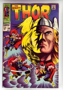 Thor, the Mighty #158 (Nov-68) FN+ Mid-High-Grade Thor