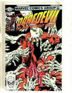 Daredevil # 180 NM Marvel Comic Book Frank Miller Elektra Bullseye Hand HJ9
