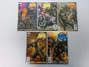 X-Men Fantastic Four, Set:#1-5, 8.0/VF (2005)