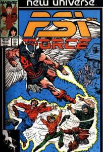 PSI-Force #10, Fine+ (Stock photo)