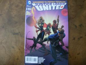 DC Comic Book (2015) JUSTICE LEAGUE UNITED #6 (New 52)
