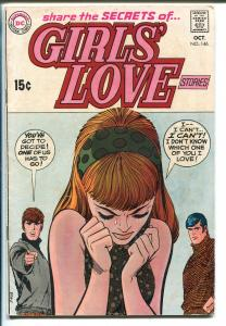 Girls' Love Stories #146 1969-DC-love triangle cover-VG+