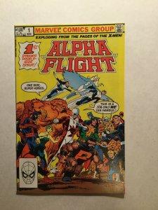 Alpha Flight 1 Near Mint Nm Marvel