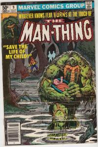 Man-Thing #9 (Mar-81) NM- High-Grade Man-Thing