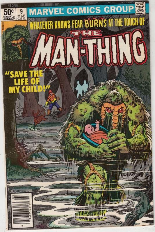 Man-Thing #9 (Mar-81) NM- High-Grade Man-Thing