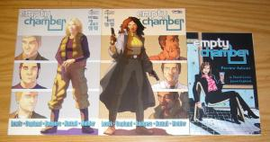 Empty Chamber #1-2 VF complete series + preview ashcan - silent devil set lot