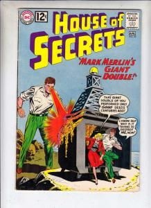 House of Secrets #53 (Apr-62) VG/FN- Mid-Grade Mark Merlin