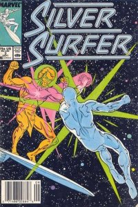 Silver Surfer (1987 series) #3, VF+ (Stock photo)