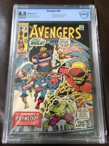 AVENGERS #88 CBCS 8.5 -Hulk Appearance-Silver Age