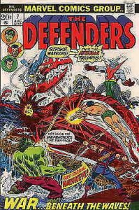 Defenders, The #7 VF; Marvel | save on shipping - details inside