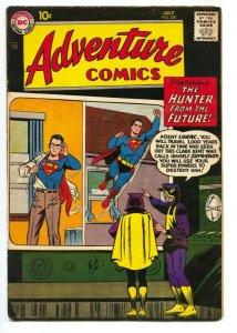 ADVENTURE COMICS #254 Green Arrow by KIRBY -DC-SUPERBOY --vg