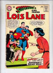 Superman's Girlfriend Lois Lane #55 (Feb-65) VG Affordable-Grade Lois Lane