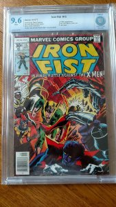 Iron Fist #15 (Marvel, 1977) CBCS NM+ 9.6 White pages