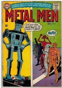 METAL MEN 15 GOOD Sept. 1965