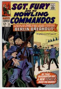 SGT FURY #35, VF+/NM, WWII, Germans, Hitler, Berlin, 1963, more in store