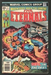 ETERNALS #3 VG/F 5.0  1st APPEARANCE OF  SERSI!