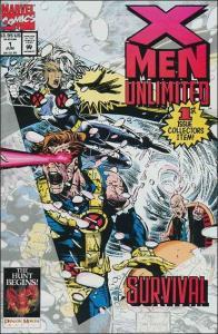 Marvel X-MEN UNLIMITED (1993 Series) #1 NM