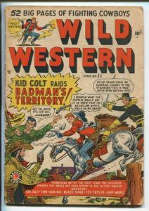 WILD WESTERN #11 1950-MARVEL-TWO-GUN KID-TEX MORGAN-KID COLT-JOE MANEELY-good