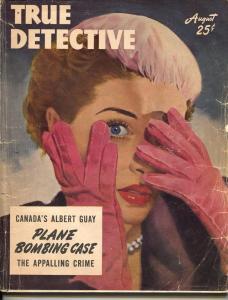 True Detective-8/1950-Crime-Fantasy Of Death-Redstone