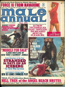 Male Annual #8 11/1970-Alistair MacLean-Gil Cohen-cheesecake-pulp thrills-G