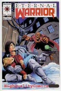 ETERNAL WARRIOR #10, NM-, Valiant, Mark Moretti, 1993, more in store