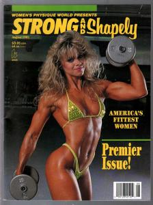 Women's Physique World presents Strong and Shapely #1 8/1992-1st issue-VF/NM