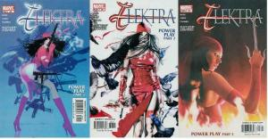 ELEKTRA (2001-2004) 25-27  Power Play COMICS BOOK
