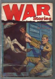 War Stories  2/16/1928-Dell-Frank N Robinson coll.-WWI era pulp stories-FN-
