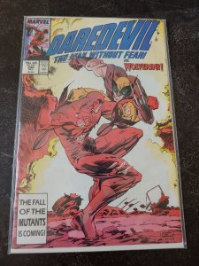 ​DAREDEVIL #249 VS. WOLVERINE NM