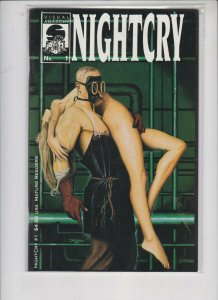 NIGHTCRY #1 1994 VISUAL ANARCHY / NM / NEVER READ