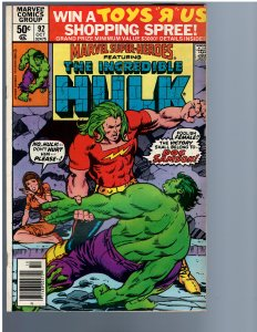 Marvel Super-Heroes #92 (1980)