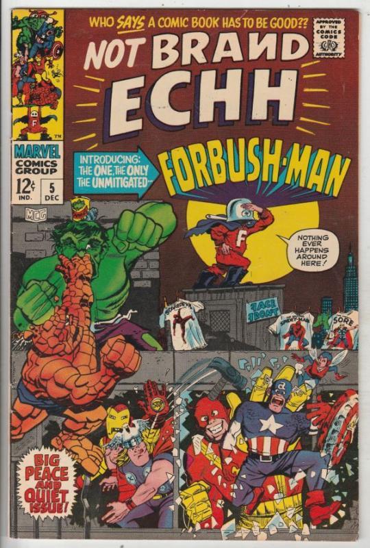 Not Brand Echh #5 (Dec-67) VF/NM High-Grade Thor, Hulk, Captain America