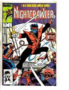 adf771db36 8 Marvel Comics Nightcrawler 1 2 3 4 + Mephisto Vs. Fantastic Four 1 ...