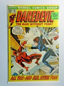 Daredevil #83 1st Series price tag on cover 4.5 (1972)