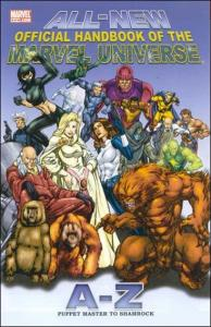 Marvel ALL-NEW OFFICIAL HANDBOOK OF THE MARVEL UNIVERSE #9 VF/NM
