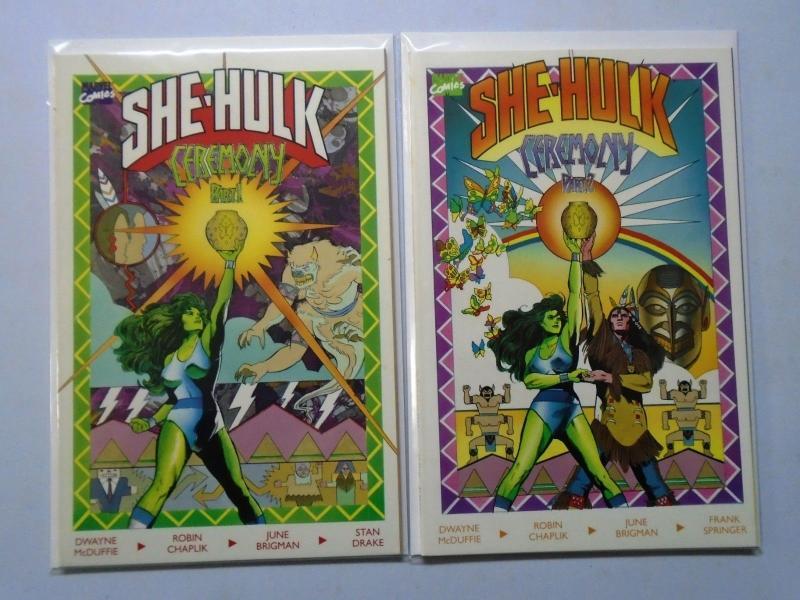 Sensational She-Hulk in Ceremony Set:#1+2, NM (1989)